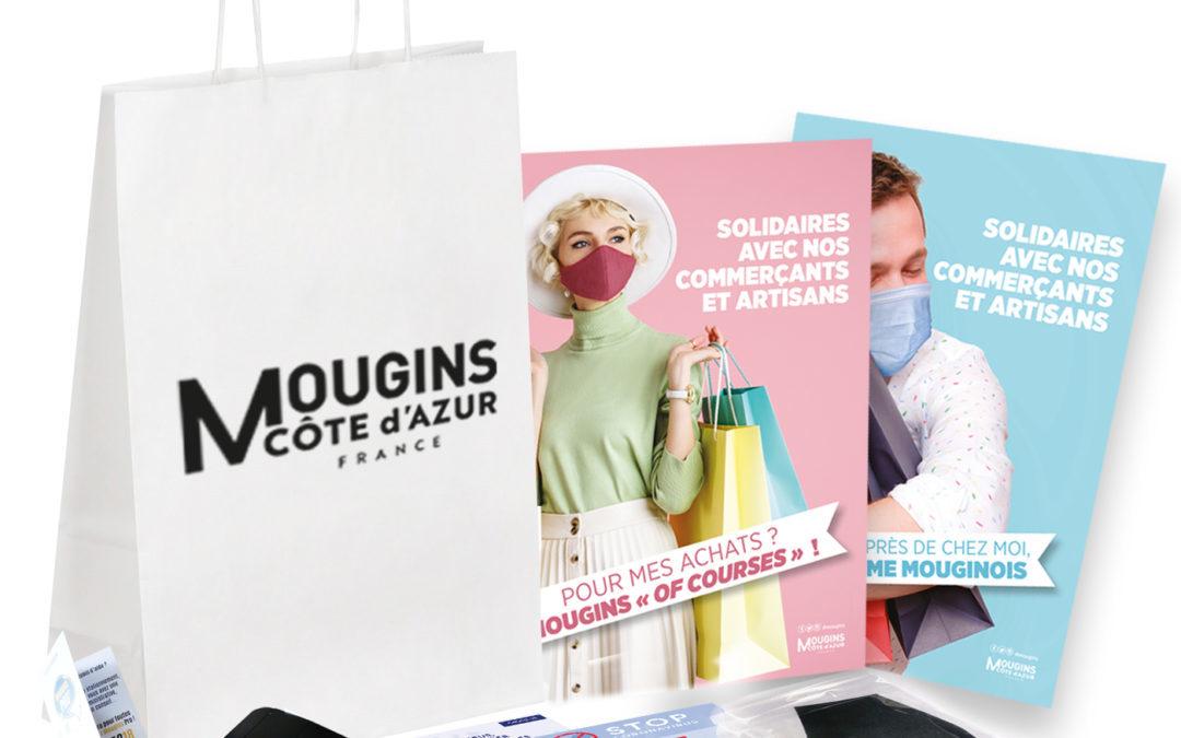 Un Kit «Mougins Pro» pour nos commerçants