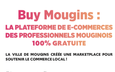 La Ville de Mougins lance sa plateforme de e-commerce : BuyMougins !
